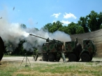Testing of howitzers NORA