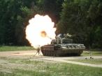 M84 tank testing